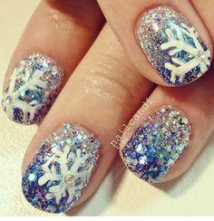 Snow nails :)   Photos   She Said Beauty