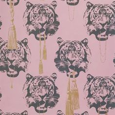The charming Coco Tiger wallpaper from Studio Lisa Bengtsson is a cool wallpaper that really stands out. The glamorous wallpaper is designed by Lisa Bengtsson and the tigers with gold tassels and jewelry has both attitude and a luxurious aura at the same time. Coco Tiger is a wallpaper for the brave one who wants a wallpaper extraordinary and it suits well in almost every room. If you´re not that brave - why not put Coco Tiger on just one wall or paper your walk in closet! Choose between…