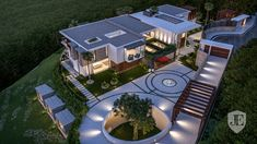 This luxury villa, located in Marbella has been designed by our architect Kristina Bråteng and developed by who's offices are in Dubai, Marbella and Madrid Architecture Design, Madrid, Surface Habitable, Modern Mansion, Building Companies, Luxury Homes Interior, Andalusia, Modern Buildings, Luxurious Bedrooms