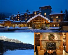 At Nita Lake Lodge, you can go from schussing the slopes to an Ayurvedic spa in the blink of an eye.