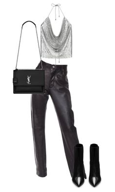 """""""cooking up something good"""" by fashionncoma ❤ liked on Polyvore featuring Helmut Lang and Yves Saint Laurent"""