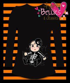 Halloween maternity T shirt Baby boy por Happybelliesanbabies