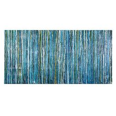 Bluecicles   Canvas   Art by Type   Art   Z Gallerie / Model over sofa