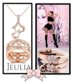 """Jeulia Jewelry Gold Passion"" by dzemila-c ❤ liked on Polyvore featuring women's clothing, women's fashion, women, female, woman, misses, juniors, gold, jewelry and jeulia"