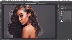 How to make difficult hair selections in Photoshop CC