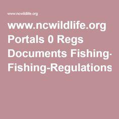www.ncwildlife.org Portals 0 Regs Documents Fishing-Regulations.pdf