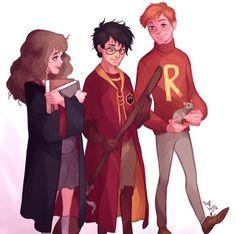 hogwarts&deathly-hallows