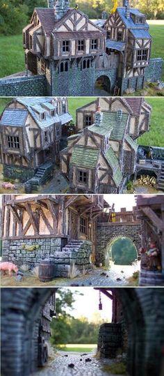 Town Gate at Dunbrough