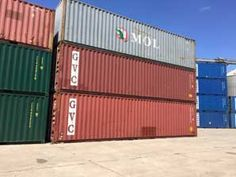 Containere maritime 40 hc stare buna pentru organizarile de santier sau pentru depozitare la sediul firmei, containere verificate la livrare.