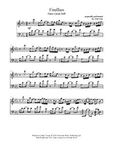 Fireflies – Owl City. This website is amazing.. download or print sheet music for popular songs completely free  YES ALL THE FREE PIANO MUSIC. I'm still looking for The Gambler by fun. tho bc i love fun. and the gambler is so pretty