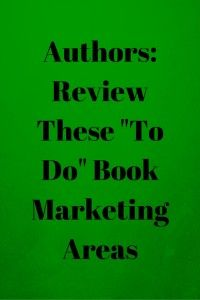 Book marketing is always ongoing for authors — new marketing efforts to undertake — and yet sometimes we need to circle back to previous efforts to check these efforts are still effective. Recently I noticed some areas for which I needed to circle back and I'd like to share these areas with other authors.