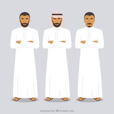 Image result for Arab Mens and Womens Dress Code