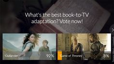 """'Outlander' named TV's best book adaptation — Sorry, 'Game of Thrones'! - In our showdown poll last week that asked our readers to name TV's best book adaptation, """"Outlander"""" fans came out in droves to vote for their favorite romance/time travel series.…"""