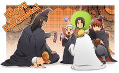 Akatsuki halloween :) Baby Tobi on diapers xD Akatsuki, Naruto Fan Art, Anime Naruto, Shikatema, Boruto, Superman X Batman, Pokemon, Naruto Images, Naruto Funny