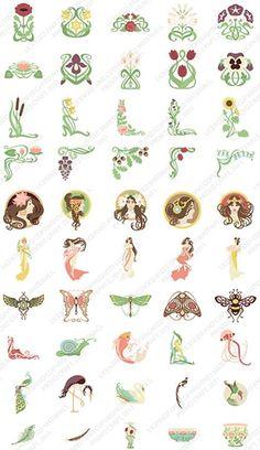 Art Nouveau sample images