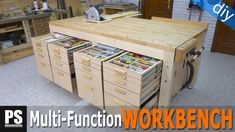 Build a Garage Workbench With Storage! Build a workbench for your garage worksh.Build a Garage Workbench With Storage! Build a workbench for your garage worksh. - Build a Garage Workbench With Storage!