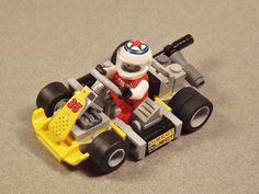 Go-Kart Legos, Go Kart Designs, Lego Wheels, Lego Machines, Lego Creative, Lego Ship, Lego Man, Lego Military, Lego Room