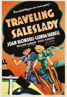 Joan Blondell and Glenda Farrell in Traveling Saleslady Vintage Movies, Vintage Posters, Glenda Farrell, Adrienne Ames, Big Six, Film Studio, Mans World, Indie Brands, Classic Movies