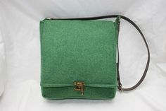 Harris Tweed Rectangular Saddle Bag in a by Ten10Creations on Etsy, £95.00