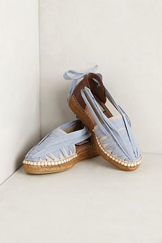 f059ac93efb Ribboned Espadrilles Anthro  108.00 Espadrille Shoes