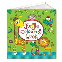 Rachel Ellen Jungle Colouring Book is sure to keep age 4 kids entertained for…