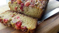 Cranberry Orange Coconut Flour Bread.