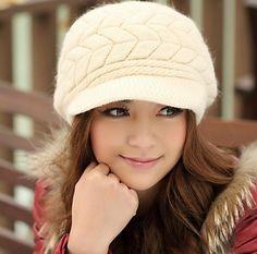 34 mejores imágenes de gorros de lana mujer  eeceb75ff0a