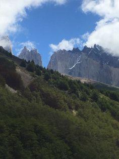 Torres peaks from far