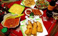 Sanntina's dish photo Christmas eve dinner   クリスマスイブの晩ご飯   ケーキは明日  忙しくて これから作る         MERRY CHRISTMAS  メリークリスマス | http://snapdish.co #SnapDish #クリスマス