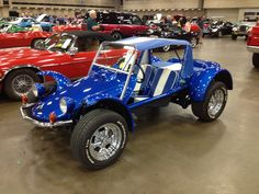 Manx Dune Buggy I saw at Dallas Texas Mecum Car Auction.    Wish I would have had more cash on me