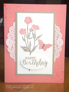 Wild About Flowers Birthday Card
