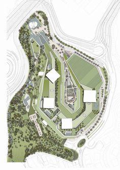 Zorlu Center,Site Plan
