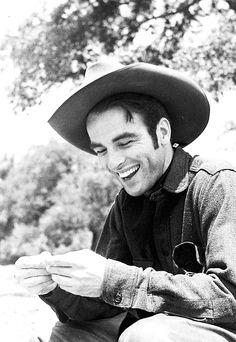 Montgomery Clift starred opposite John Wayne in the classic film 'Red River'  as the surrogate son that eventually challenges Wayne for control of the drive. In terms of acting styles, Clift and Wayne were about as different as two actors could be: Wayne seemed always to act on instinct and charisma, while Clift was one of the young Turks through the 40's and 50's.