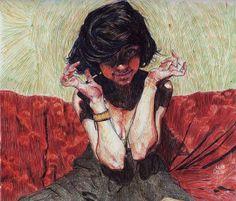"""Tatiana"" by julian Landini on #INPRNT - #illustration #print #poster #art"