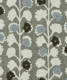 Robert Allen @ Home Surreal Vines Indigo Fabric - $23.79 | onlinefabricstore.net