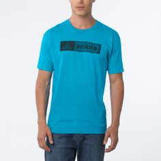 Stamp T-Shirt- Clean and classic. The lightweight cotton prAna Stamp T-Shirt will make an imprint on your style this spring. Looks great on its own and layers well.