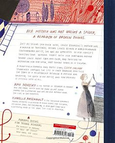 Cloth Lullaby: The Woven Life of Louise Bourgeois: Amy Novesky, Isabelle Arsenault: 9781419718816: Amazon.com: Books