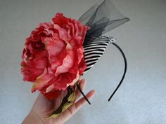 How to make your own fascinator wedding hat. Doing this today...for Del Mar tomorrow.