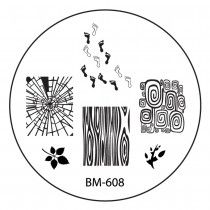 """2014 """"Create Your Own"""" Collection - BM608: Shattered Footprints"""