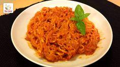 Che ne dite di un bel piatto di spaghetti cremosi? Di zucchine, ovvio! Pochi ingredienti, semplicità ed il gusto sempre al massimo! Gnam :D