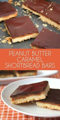Keto Peanut Butter Shortbread Bars