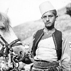 Young Albanian from Zadrima 1911