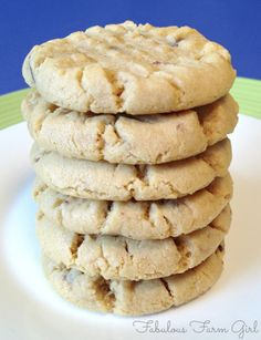 She used to own her own cookie company and she gave out her top 3 recipes