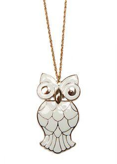Goddess Athena necklace.
