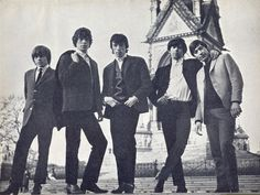 Brian Jones, Mick Jagger, Bill Wyman, Keith Richards, Charlie Watts
