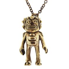 Blamo's solid brass Swamp Monster pendant measures cm and hangs on a 70 cm oxidized brass chain. Keep Swampy close to your heart. Weaving Machine, Brass Necklace, Pendant Design, Unique Animals, Unique Necklaces, Brass Chain, Tech Accessories, Solid Brass, Gifts For Friends