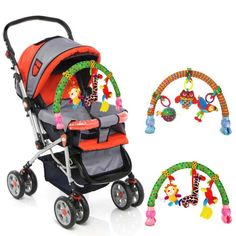 28.15$  Watch now - http://ali3mc.shopchina.info/1/go.php?t=32813902823 - Stroller Bells folder newborn multi - function Kids Soft Animal Musical  Bed Cute Multifunctional Plush Stroller Accessories  28.15$ #aliexpress