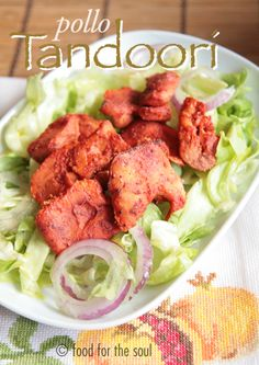 Pollo tandoori in versione furba e completa - Tandoori chicken (smart and complete versions)