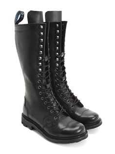 John Fluevog - Zachary (I had them cut the tongue on each boot so it doesn't stick up - looks much better)