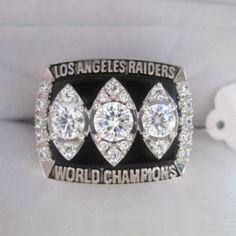 1983 NFL Los Angeles Raiders Super Bowl Championship Rings 18K